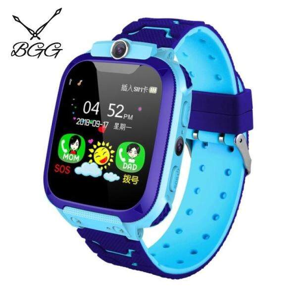 BGG Kids Smart Watch Q12B Phone Watch for Android IOS Life Waterproof LBS Positioning 2G Sim Card Dail Call Malaysia