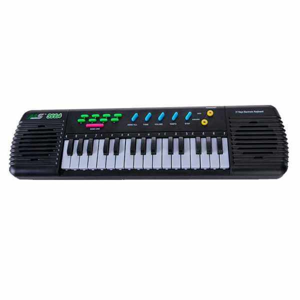 31 Keys Electronic Piano Multifunctional Electronic Organ Musical Instrument Toy with Microphone for Kids Beginners (Standard) Malaysia