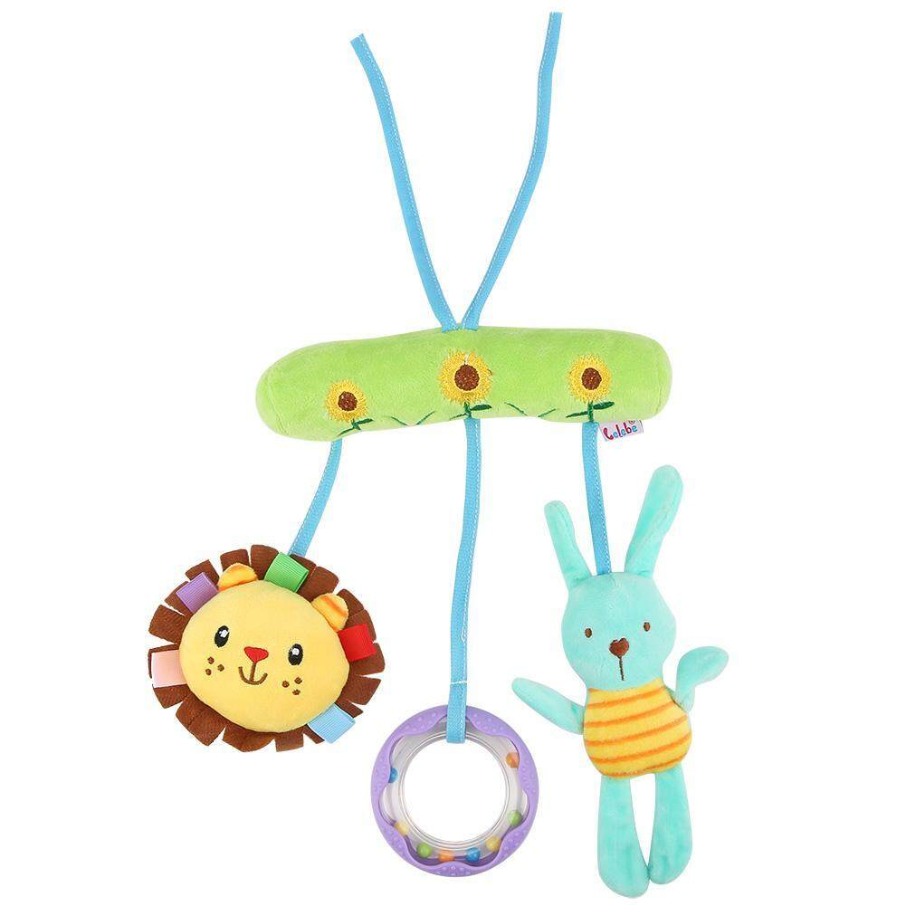 Baby Stroller Car Seat Hanging Bell Toys Soft Plush Dolls for Crib Accessories