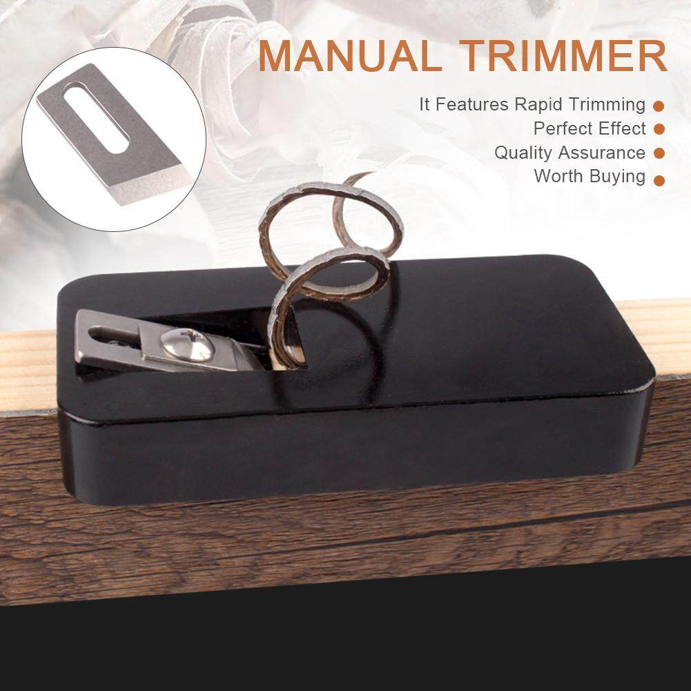 Convenient Practical Manual Trimmer Up and Down Trimming Machine Straightener Edge Banding