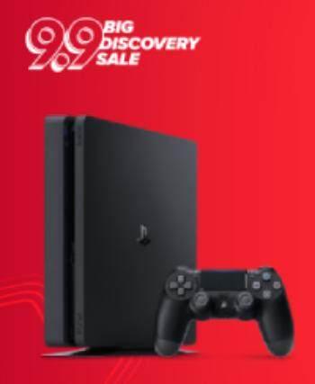 Sony PlayStation 4 ( PS4 ) Slim 1TB Black Console (Official 2 Years Sony  Malaysia Warranty)