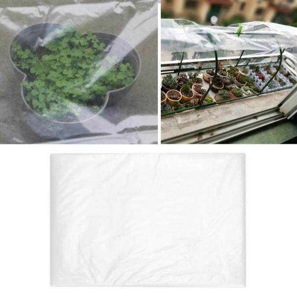 [[salmopho+Greenhouse Film]]Portable Garden Plant Cover Greenhouse PE Film Home Dustproof Window Sealing Film 3*12 meters Singapore