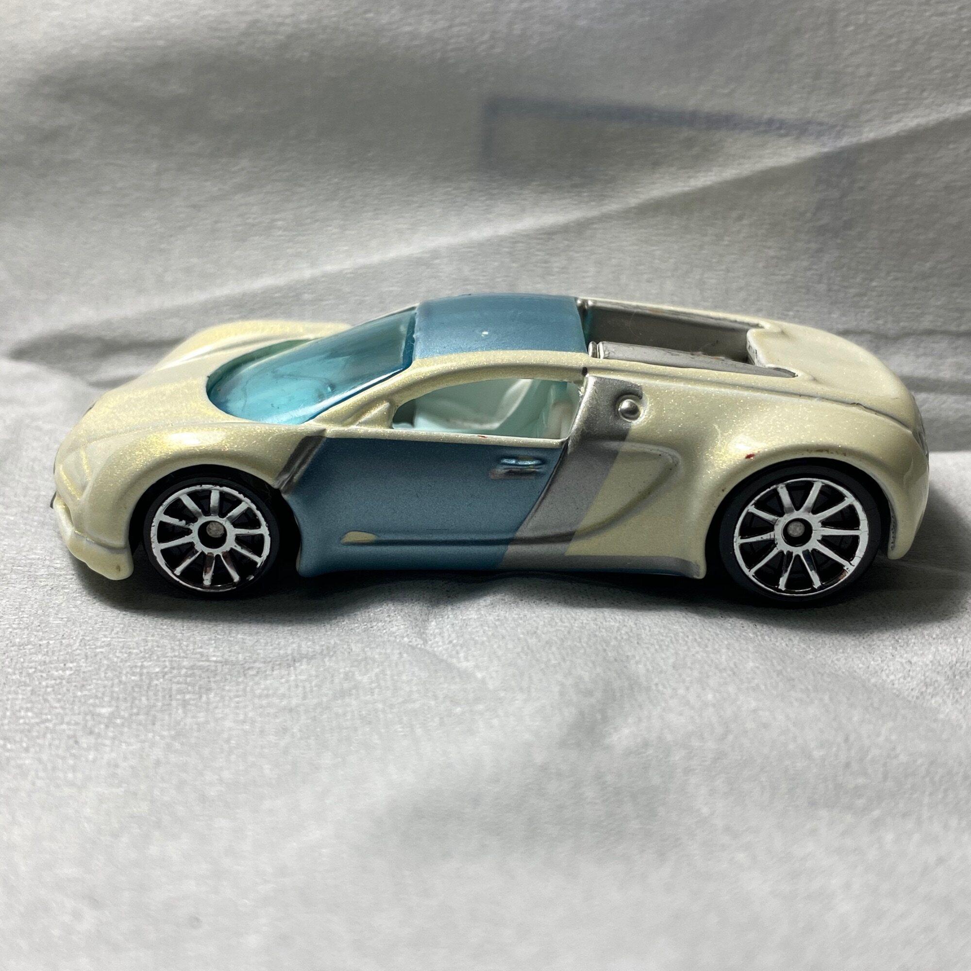 hotwheels bugatti veyron pearl white mystery car lazada hotwheels bugatti veyron pearl white mystery car