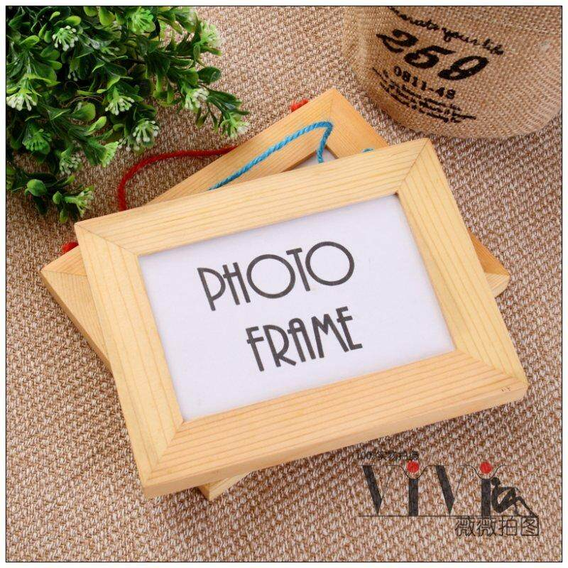 Special Offer Logs 5-Inch Solid Wood Pine Photo Frame Filming Props Photography Photo Taking Props Background