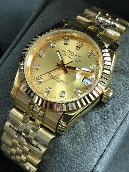 New Swiss Automatic_Rolex_Unique Design_Datejust_Superlative Chronometer Officially Certified Men Watch Date Display New Haritage Dimond Design Awesome Stainles Steel Strip Malaysia