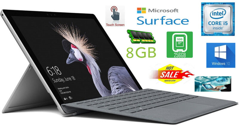Microsoft Surface Pro 3 (Core i5-4th Gen, 8GB Ram, 256GB SSD, 12   SCREEN [2160*1440] IPS 2K ULTRA HD) Malaysia