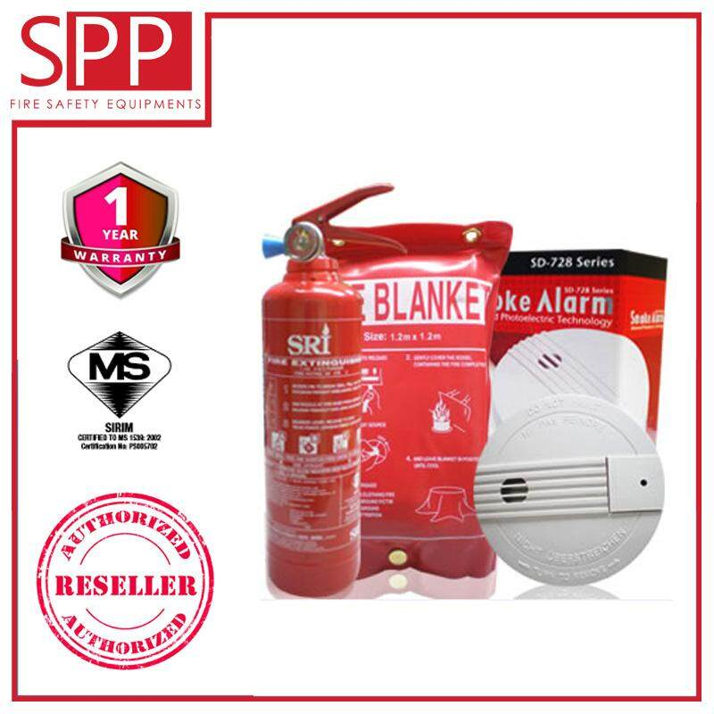 SPP SRI Home Guard 1 Fire Safety Home Protection Kit