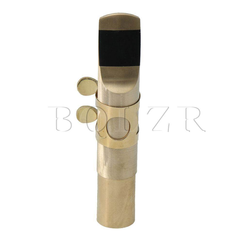 Tenor Saxophone Metal Mouthpiece Set Blank 5# Brass Music Instrument Accessories image