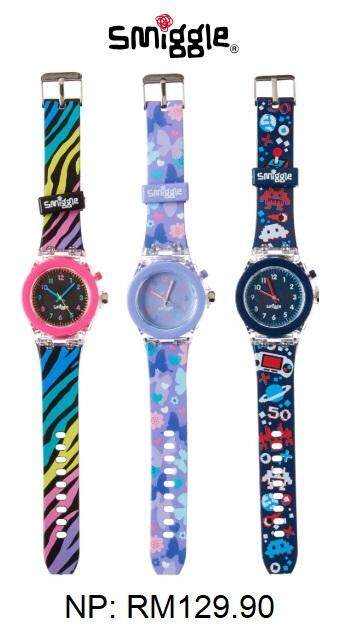 SMIGGLE Mash Light Time Watch Malaysia