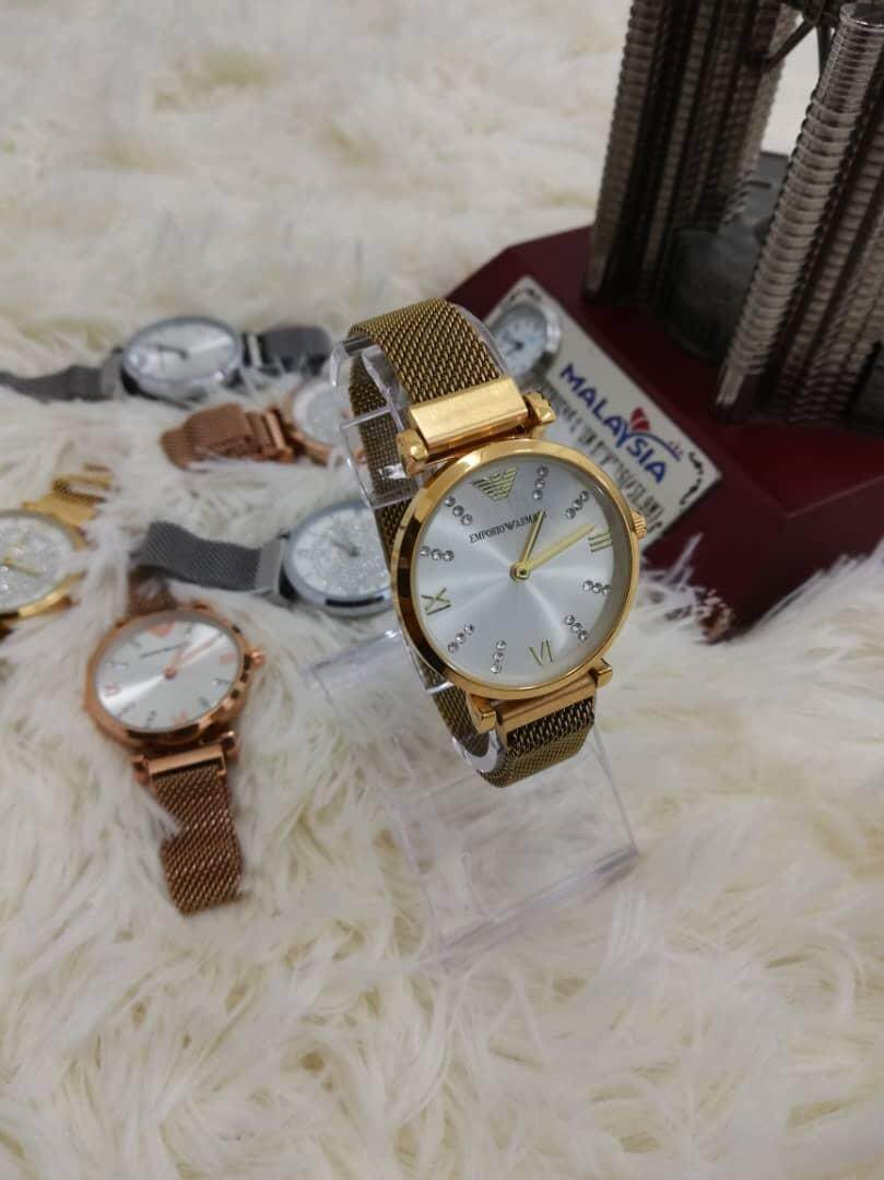 df8a09a45af Malaysia. NEW EMPORIA ARMANI CASUAL WATCH FOR WOMEN HOT SELLING AND GOOD  PROMOTION
