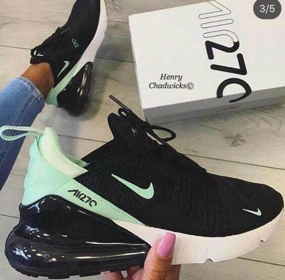 การใช้งาน  ระยอง Nike_Original Air_Max_270 AH8050-600 Gym Sport Mens Women Shoes