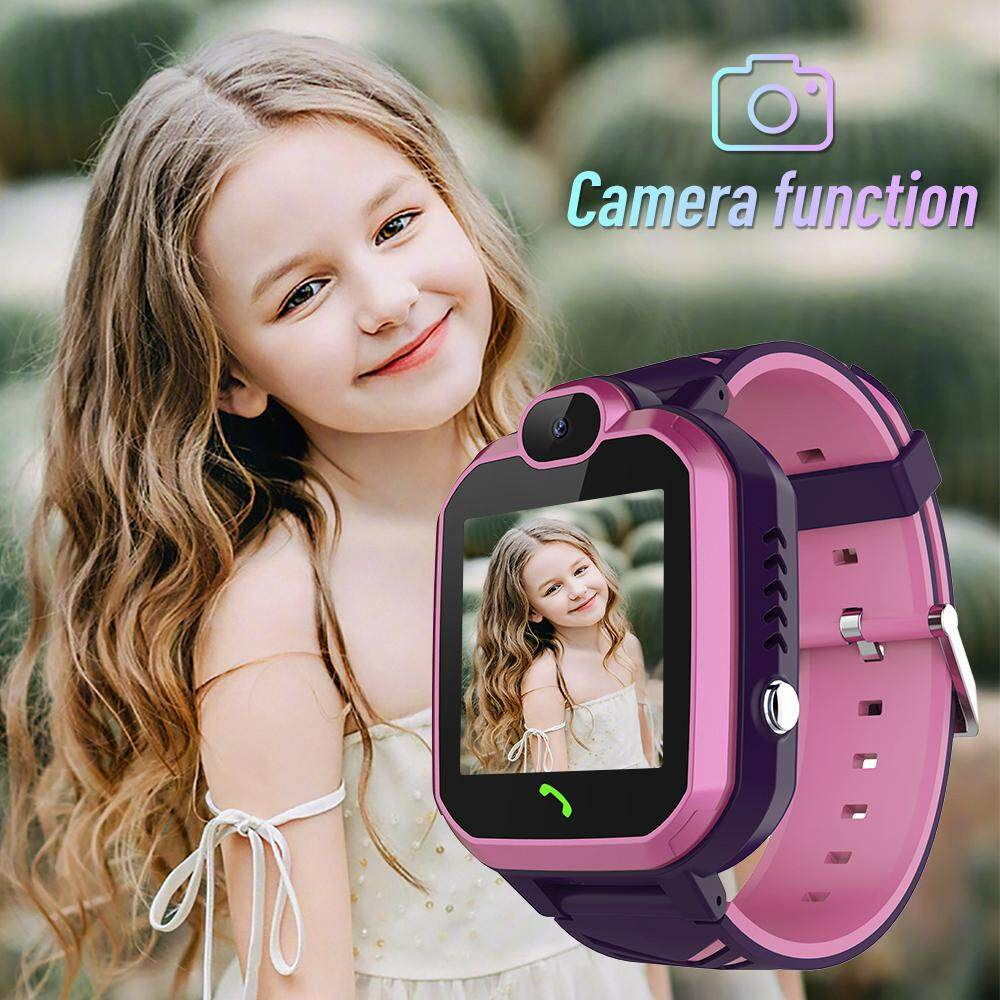 TopRating R7 Children Smart Phone Watch Waterproof SOS Waterproof Call Locator Tracker Anti-lost Monitor Baby Kids Student Boy Girl Malaysia
