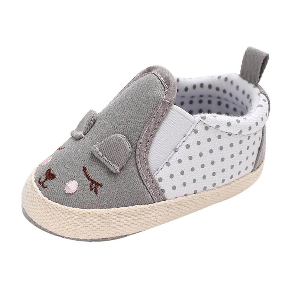 Tideshop Infant Newborn Baby Girls Prewalker Soft Sole Cartoon Animal Single Shoes By Tideshop.