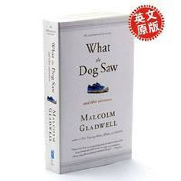 Puppy World English Original What the Dog Saw Malcolm Gladwell Book