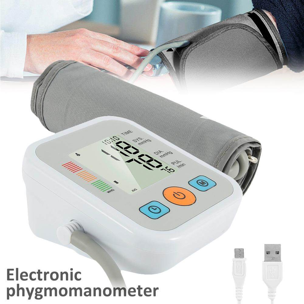 [Hot Sale] Home Arm Type Electronic Blood Pressure Measuring Instrument Automatic High Precision Sphygmomanometer Household Blood Pressure Device