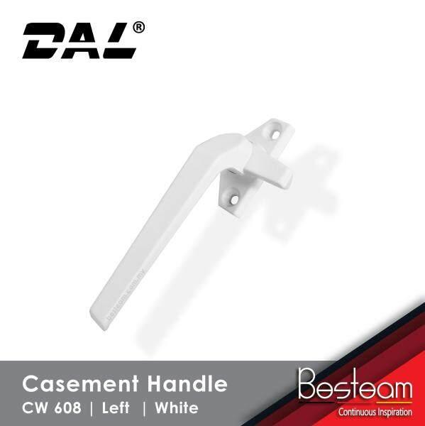 Casement Window Handle Solid Aluminium- Left   DAL® CW-608