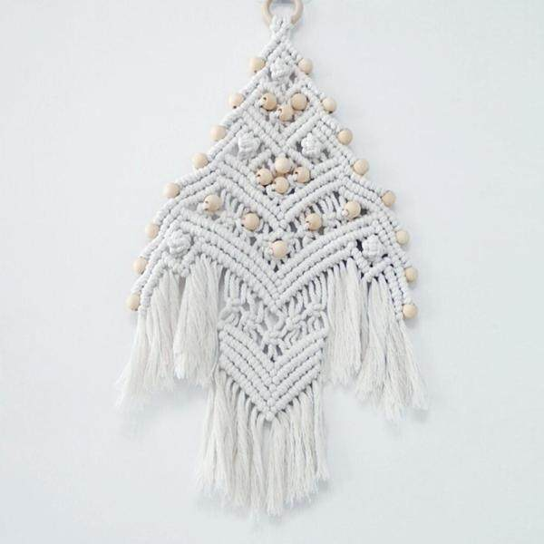 INS Christmas Day Decoration Lace Wall Hanging Bohemian Decoration Accessories Hand-woven Tapestry Home decoration
