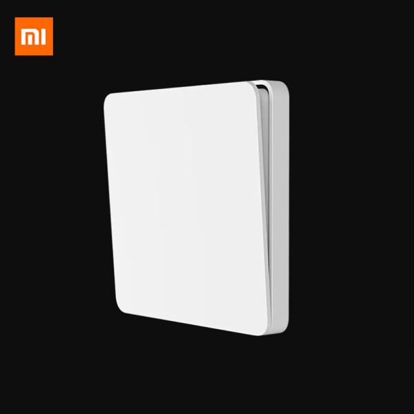 Xiaomi Mijia Công tắc tường đơn Điều khiển kép 2 chế độ, Chuyển qua ánh sáng đèn cho nhà thông minh - INTL