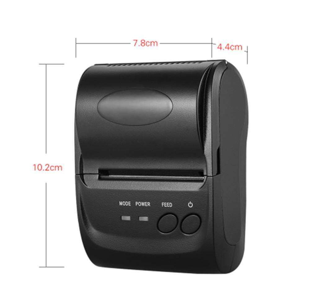 Mini Portable Usb 58mm Bt Thermal Printer Pos Receipt Printer Barcode Printer For Ios Android Window By Freebang.