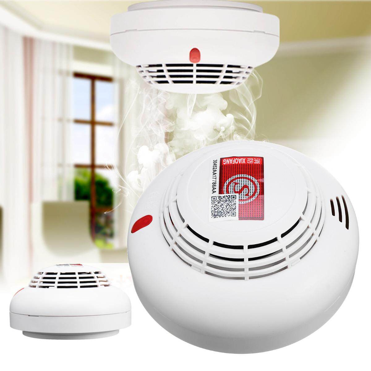 Home Security Wireless F ire Smoke Detector F ire Sensor Alarm