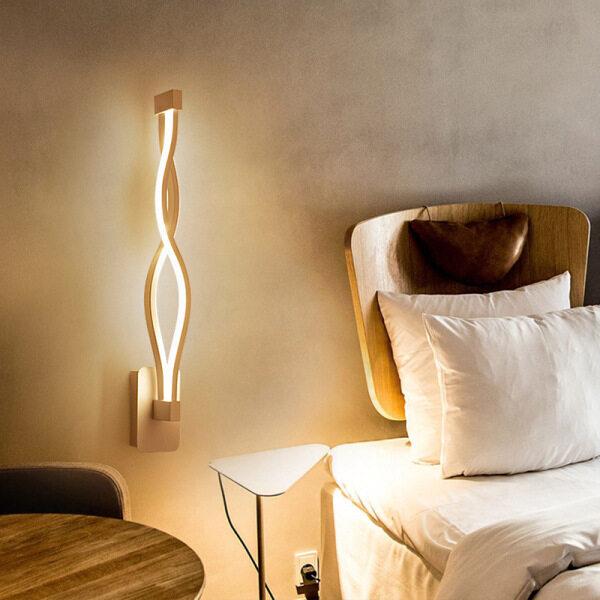 Bảng giá Đèn Tường Tối Giản Hiện Đại AC85V-265V LED 16W Gắn Đầu Giường Phòng Ngủ Phòng Khách Đen Trắng Đèn Lối Đi Chiếu Sáng Trang Trí