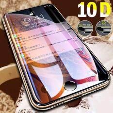 10D Full Bao Da Bảo Vệ Kính Cường Lực Cho iPhone 7 8 6 6 S 6 S Plus XR XS Max Tấm Bảo Vệ Màn Hình, 2 gói, Đen