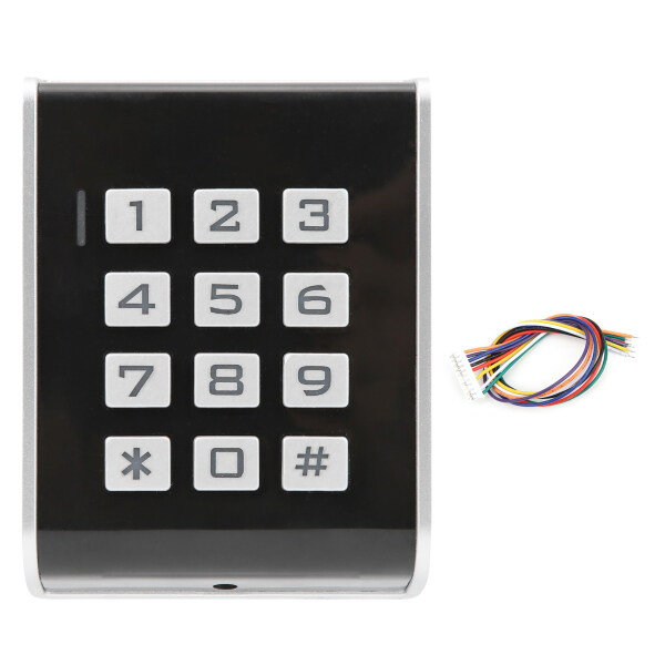 Access Control Keypad Access Controller for Wiegand 26 Card/Password Access Control Machine Door Entry Card Reader with Backlit
