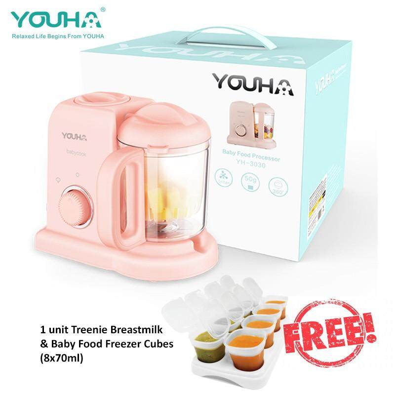 Youha Baby Food Processor with Free Gift image on snachetto.com