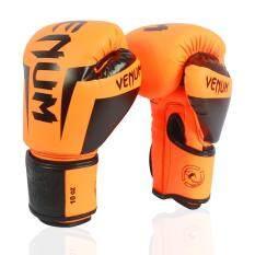 10,12,14,16 OZ Boxing Gloves PU Leather Gloves Men Women GYM Boxing Training Gloves