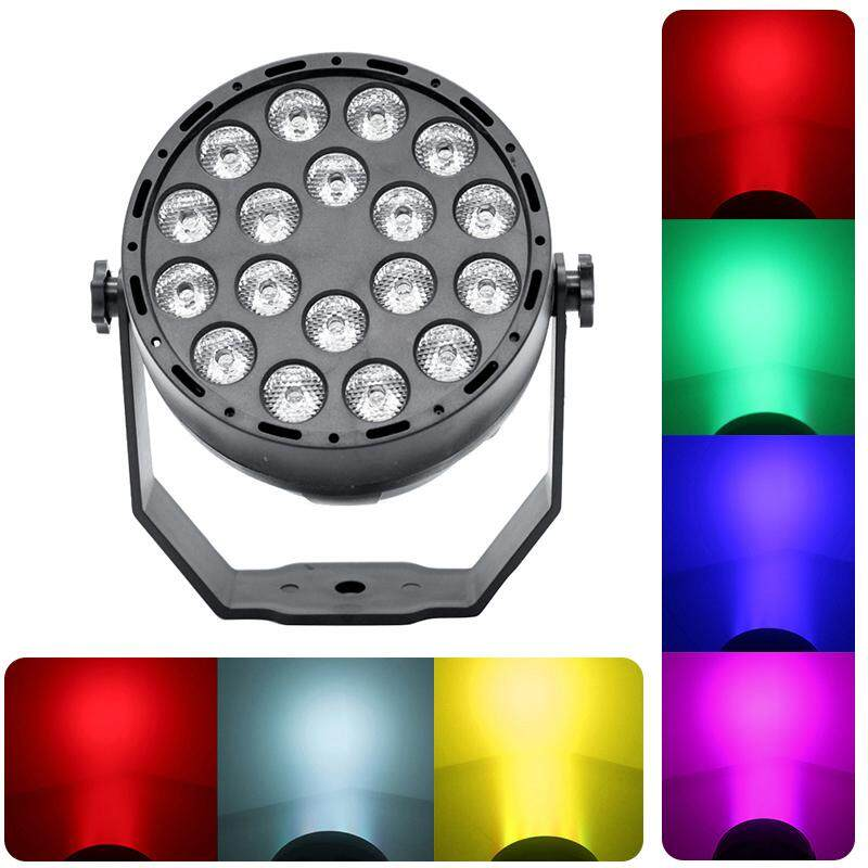 18x1W 7 Colors KTV Bar Dancing Party LED Stage Light Multi-Control with Remote Controller
