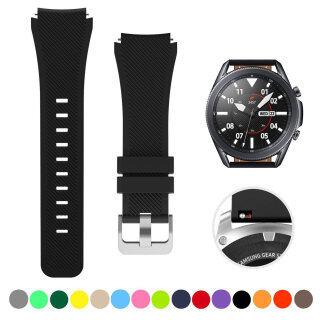 Dây Đeo Cho Samsung Galaxy Watch 46Mm Galaxy Watch 3 45Mm Gear S3 Frontier Classic Watch, Vòng Thay Thế Thể Thao Silicon 22Mm Phát Hành Nhanh Cho Moto 360 Thế Hệ 2 46Mm Pebble Time Steel Đồng Hồ Thông Minh thumbnail