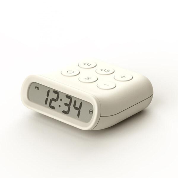 Đồng hồ nhỏ báo thức báo lại màn hình led kỹ thuật số cảm biến thông minh, làm bằng nhựa (Sản phẩm có 2 phiên bản lựa chọn, vui lòng chọn đúng sản phẩm cần mua) - INTL