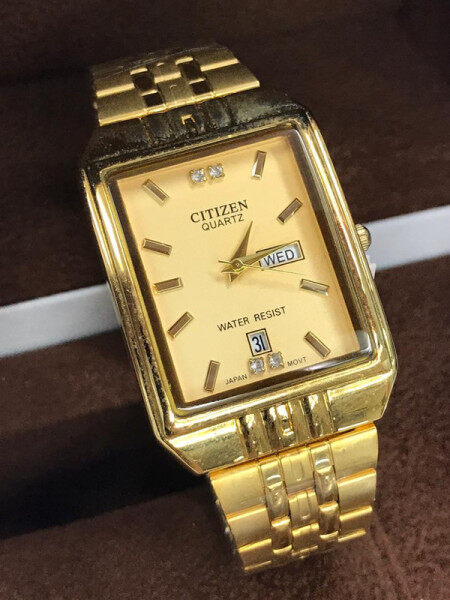 NEW CITIZEN_ANALOG STAINLESS STEEL WATCH FOR MEN % WOMENS Malaysia