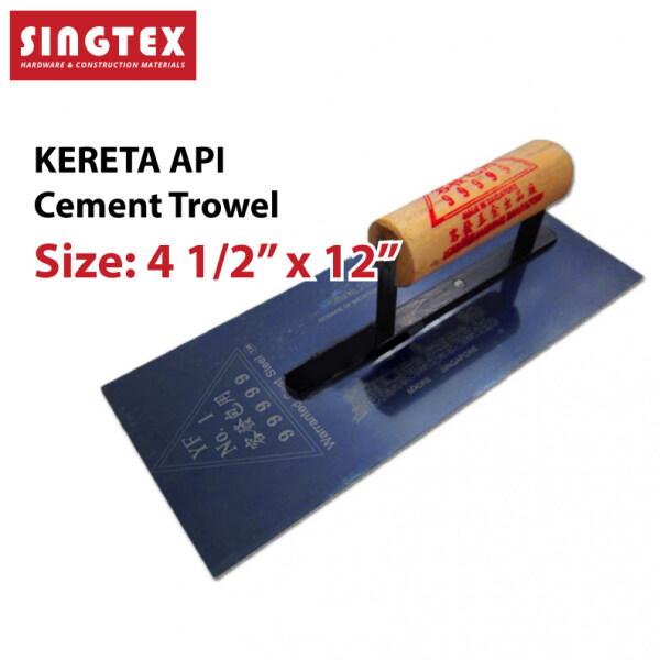 [READY STOCK] 100% Original Kereta Api Brand 0.6mm Plastering Trowel 3 x 18 | Premium Quality Trowel