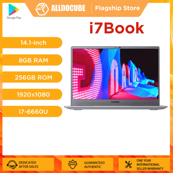Alldocube Laptops i7Book 14.1 inch Intel i7-6660U 8GB RAM 256GB SSD 51.3Wh Battery Full-Featured Type-C 90% Narrow Bezel Notebook【Flagship Store】 Malaysia
