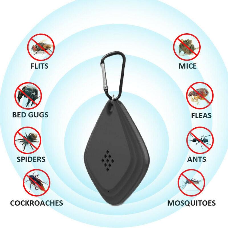 Joymo Thuốc Chống Côn Trùng Hiệu Quả Có Thể Sạc Qua USB Thuốc Chống Côn Trùng Di Động Chống Muỗi Thông Minh Mute Siêu Âm Leo Núi Ngoài Trời Chạy Bộ Đi Bộ Du Lịch Đuổi Muỗi