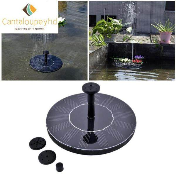 Cantaloupeyhd Ready Stock Costel [COD best seller] New 180L/H 7V/1.4W Floating Solar Power Fountain Panel Kit Garden Water Pump for Pool pond Garden with 3 nozzle spray 【COD】