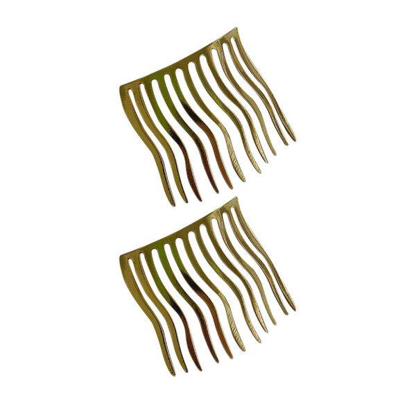 2PCS Cute Metal Seamless Hairpin Hair Comb Insert Comb Bangs Clip Hairpin Malaysia
