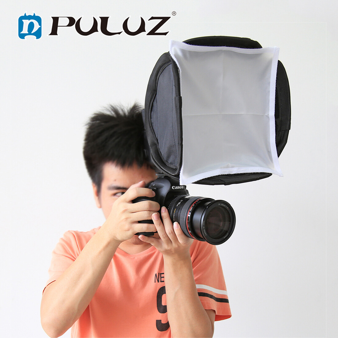Puluz 23cm Universal Foldable Flash Light Diffuser Octagon Speedlight Diffuser Softbox Soft Box For Canon / Nikon / Sony / Olympus Diffuser Softbox Neewer Cloth Fabric Cover For Led Light Ring Kit Sock Panel Flash Cannon.