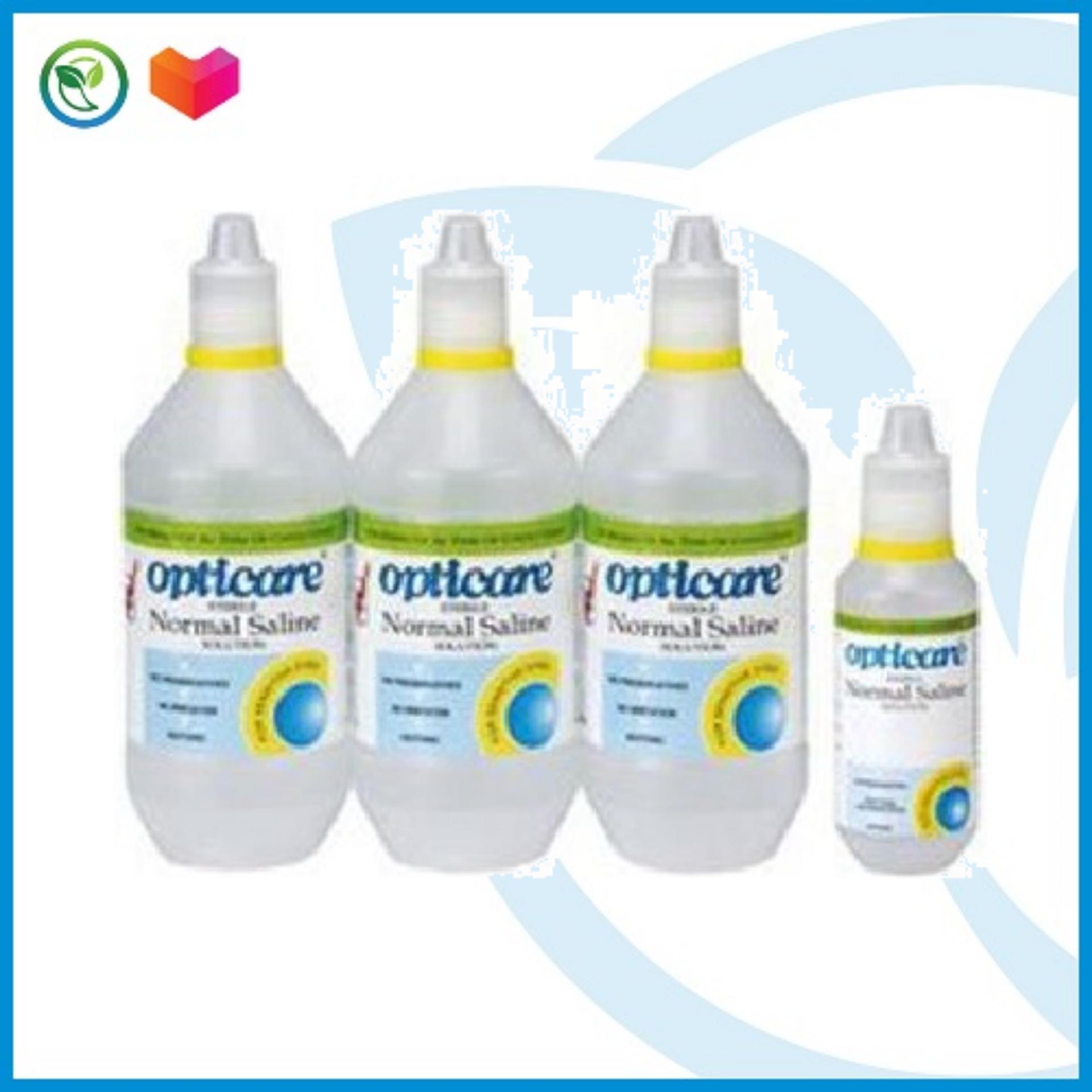 Opticare Normal Saline Solution 500ml x 3 + 120ml