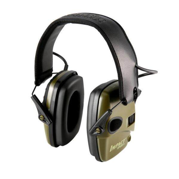 Hot Sellers Outdoor Sports Anti-noise Impact Amplification Electronic sho oting Earmuff