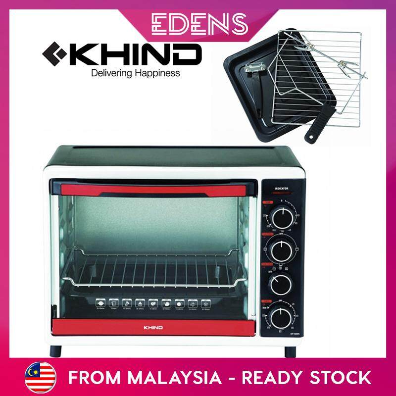 KHIND Electric Convection Rotisserie 30L Free 2 Baking Trays (OT3005) - Fulfilled by Edens