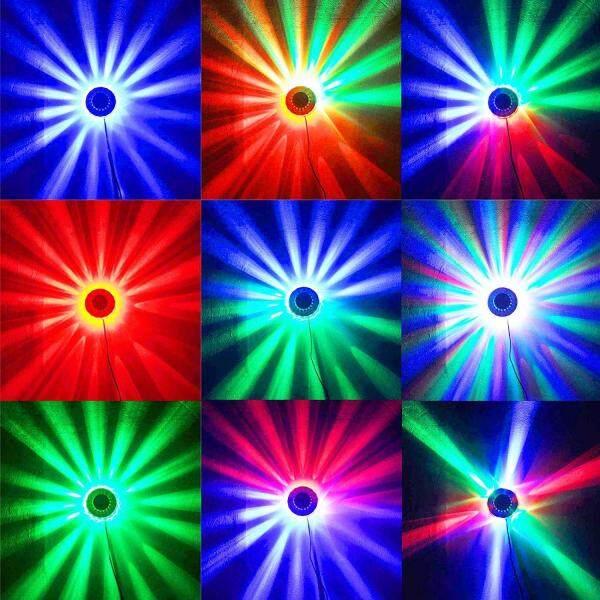 8W Eastvita®Xl40-b Disco DJ Sân Khấu Chiếu Sáng LED RGB Pha Lê Bi Ma Thuật Tác Dụng DMX Đèn Disco bóng Đèn 220 V/100 -240V