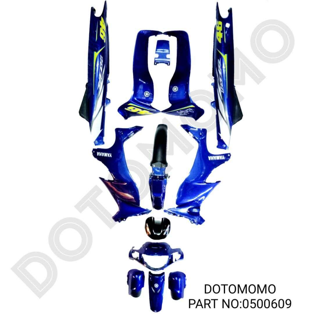 Y125 ZR Y125ZR YAMAHA 46 LIMITED STICKER BODY COVER SET DOTOMOMO