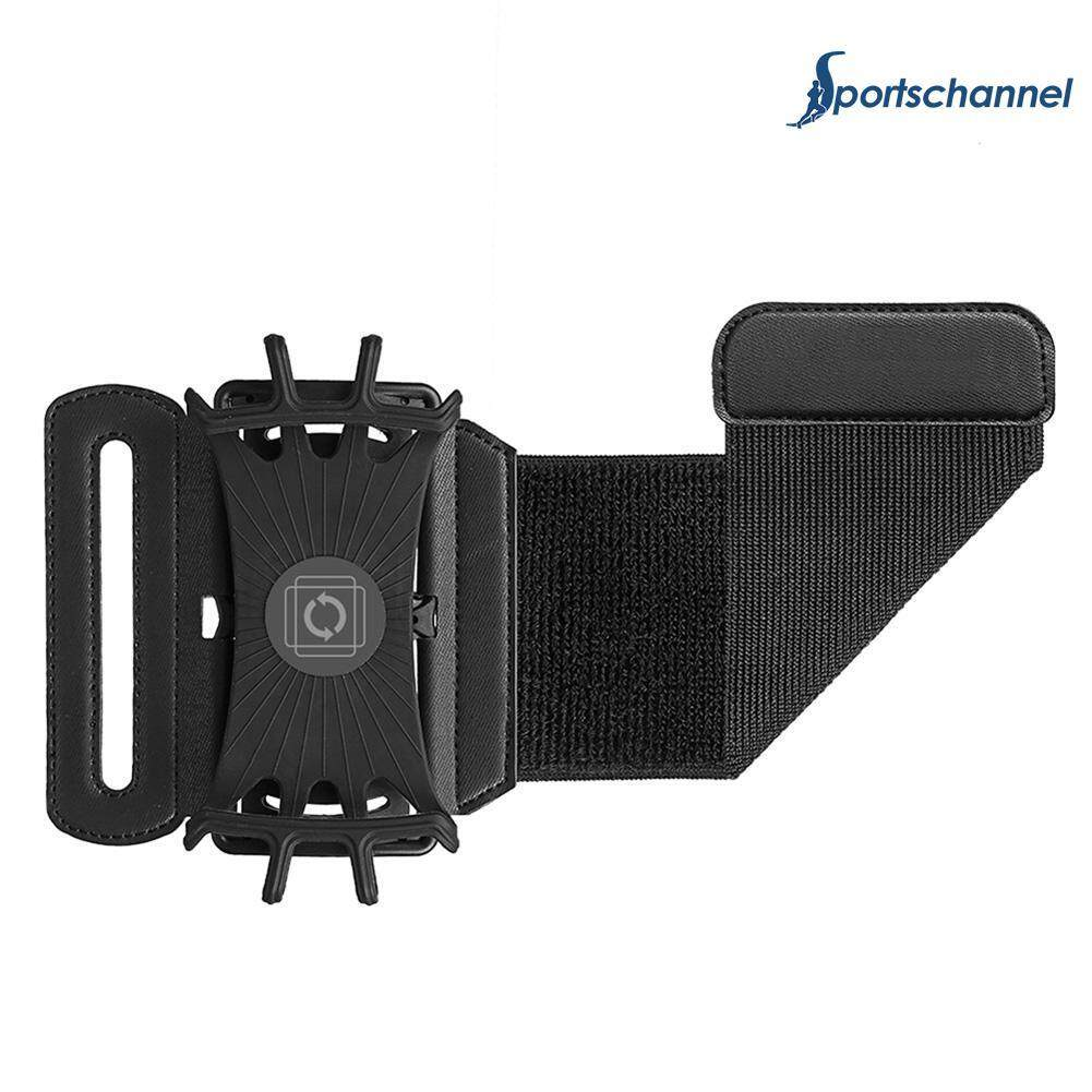 Sportschannel Running Phone Wristband 180 Degree Rotatable Bag Belt Wrist Strap Jogging Cycling Gym Arm Band Bag For Mobile Phone Holder By Sportschannel.