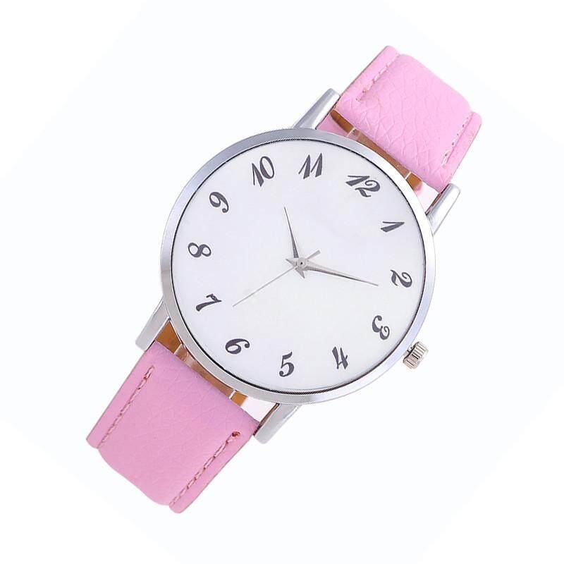Tangka Mode Terkini Jam Tangan Bermerek Wanita Jam Tangan QUARTZ Jam Putih Jarum Gesper Tali Kulit untuk Wanita Hadiah Ulang Tahun
