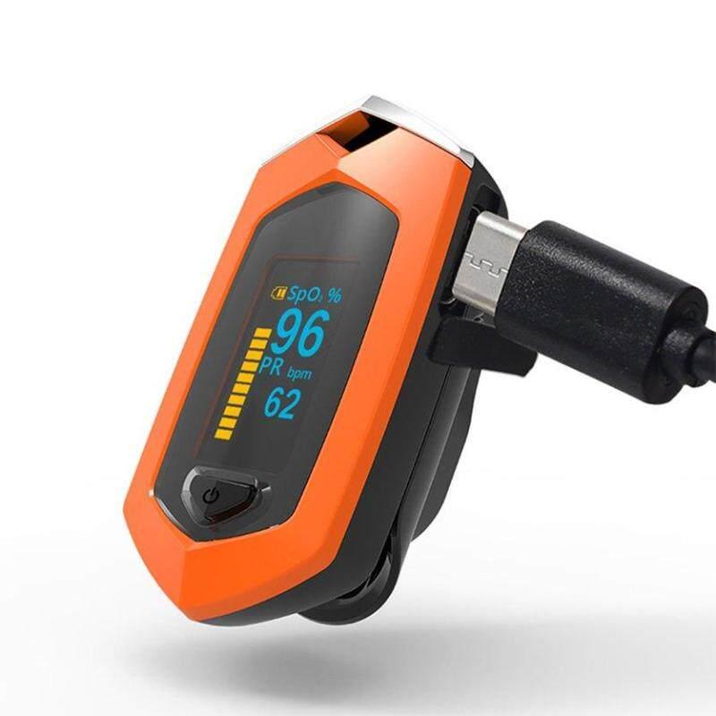 ĐẦU Ngón Tay Pulse Oximeter Độ Bão Hòa Ôxy Máu Máy Hoạt Động Bằng Pin bán chạy