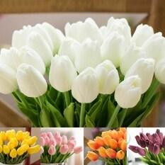 10 Bông Hoa Tulip Nhân Tạo Bó Hoa Giả Cảm Ứng Thật Hoa Giả, Để Trang Trí Đám Cưới Hoa Trang Trí Nhà Cửa