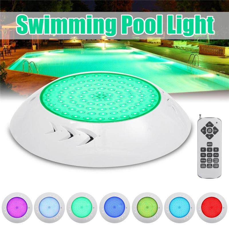【Free Shipping + Flash Deal】 Waterproof Underwater Swimming Pool Spa LED Light RGB Lamp + Controller 12V 18W
