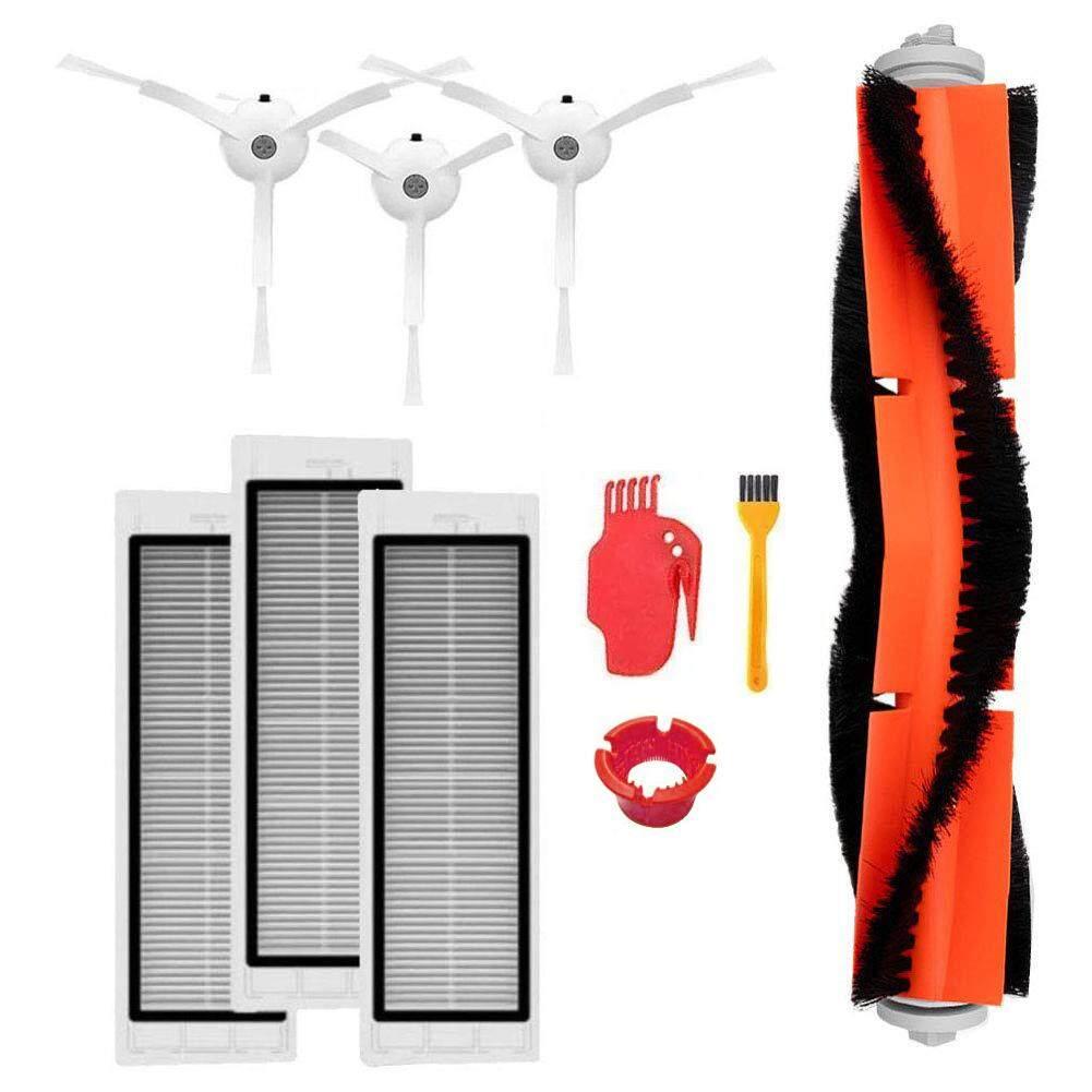 10 Chiếc Chổi Quét Chính Với Bộ Lọc Hepa, Dụng Cụ Vệ Sinh Và Bàn Chải Cạnh Bên Dành Cho Xiaomi Robot Hút Bụi Phụ Kiện
